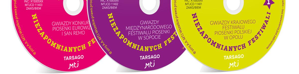 CD Wielkie gwiazdy niezapomnianych festiwali