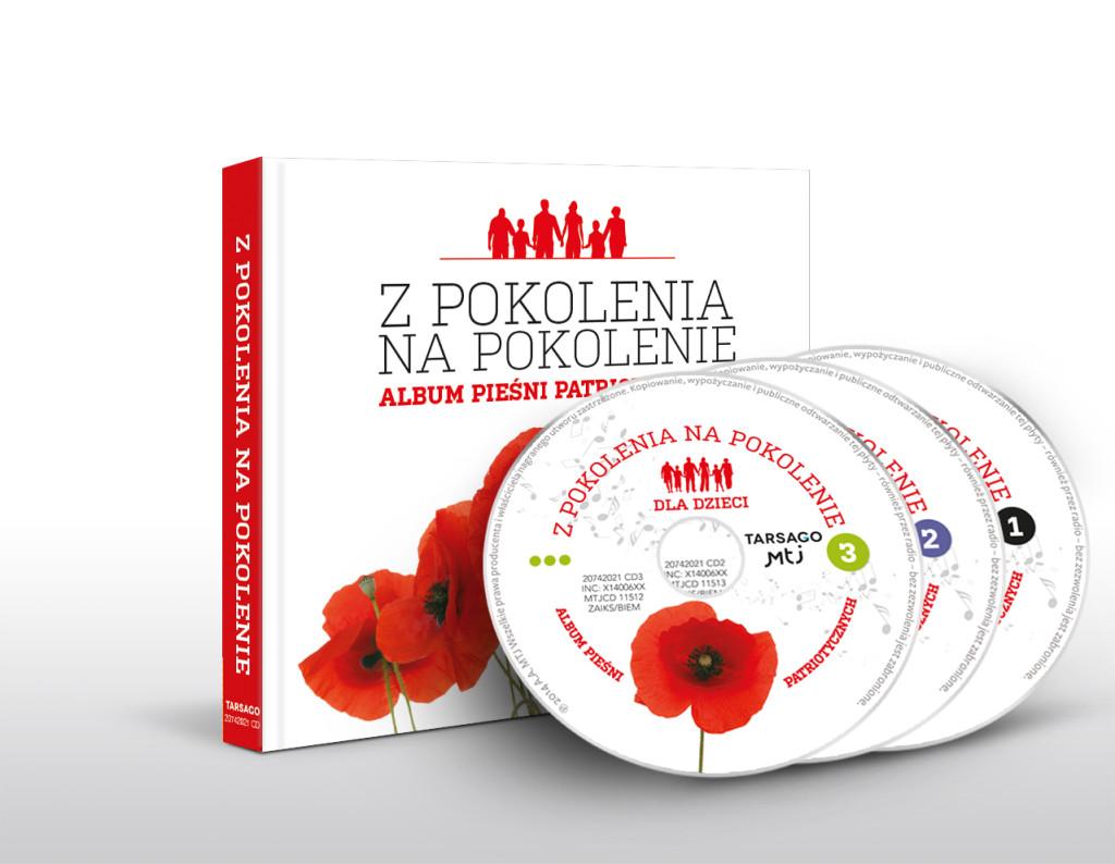 Z pokolenia na pokolenie - książka z trzema płytami CD